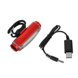 Aluminium Alloy Red Light 16-LED 3-Mode Safety Bike Tail Lamp - Red  (FSLV)