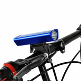 Leadbike Waterproof 3-Mode Cool White Light Bike Headlamp - Blue (FSLV)