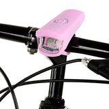 2-Mode White Light Bike Lamp - USB, Pink (FSLV)