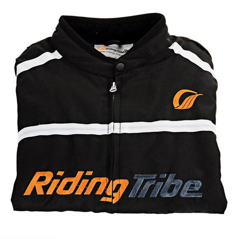 Riding Tribe JK-05 Motorcycle Warm Riding Clothes - Black (FSLV)