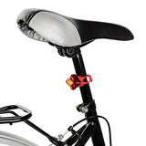 SOLDIER SJ-10269 USB 2-LED Red Light 3-Mode Bike Lamp - Red (FSLV)