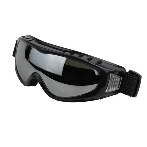 Outdoor Cycling Windproof PVC Lens Goggles -  Grey + Multicolor (FSLV)