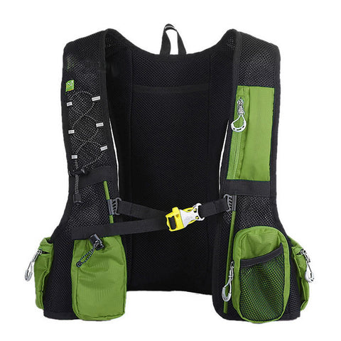 LOCAL LION Cycling Backpack  - Green + Red (20~25L) (FSLV)