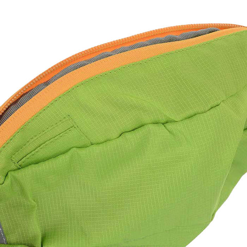 Wind Tour Sports Water Resistant Waist Bag w/ Adjustable Strap - Green (FSLV)