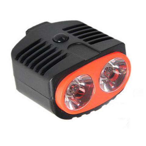 High-Power Owl Eyes Style Bicycle Headlight Neutral White - Black    (FSLV)