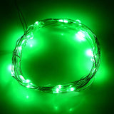 2-Mode 20-LED Bike Wheel Spoke Light Green Light - White (FSLV)