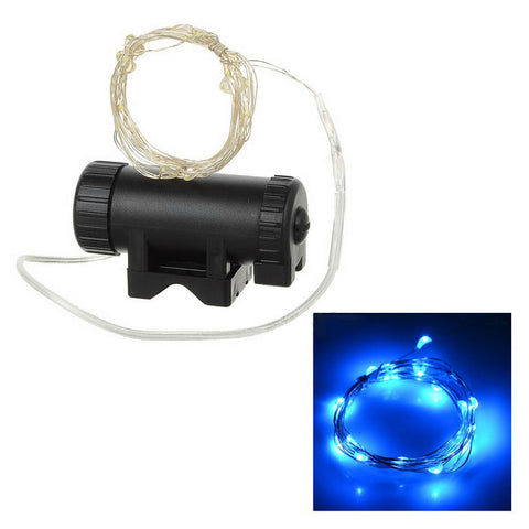 2-Mode 20-LED Bike Wheel Spoke Light - White (FSLV)