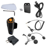 Motorcycle Helmet Bluetooth Interphone - Black (FSLV)