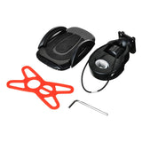Nuckily Cycling Bike Phone Holder w/ Fixing Accessory - Black (FSLV)