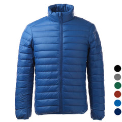 Men's Ultra Light Thin Down Jacket Coats - Sapphire (FSLV)
