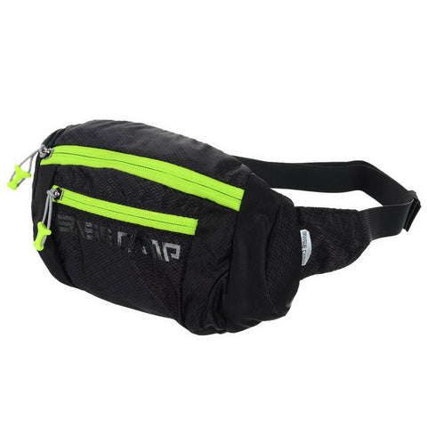 Basecamp Breathable Elastic Cycling Waist Bag - Black (2L) (FSLV)