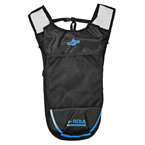 Outdoor Climbing / Cycling Shoulders Bag Backpack - Black + Blue (5L)  (FSLV)