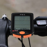 24-Function Water-Resistant Bike Computer - Black + Orange (FSLV)