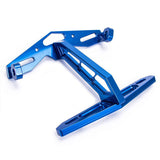 Carking Cnc Motorcycle License Plate Holder Mount Bracket - Blue (FSLV)