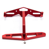 CARKING CNC Universal Motorcycle License Plate Holder Mount Bracket - Red (FSLV)