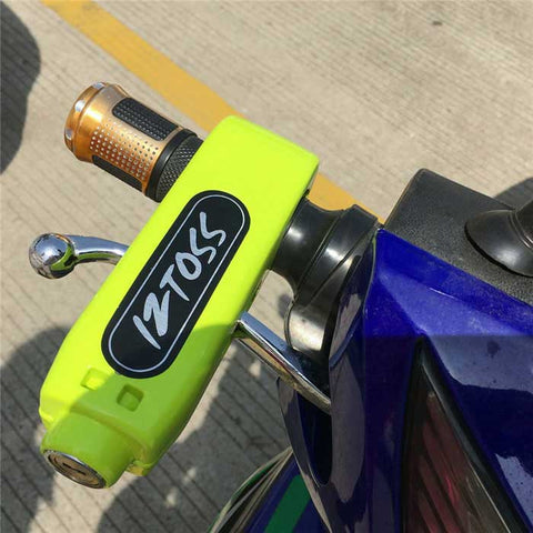 Motorcycle Scooter Throttle Handle Lock - Yellowish Green (FSLV)