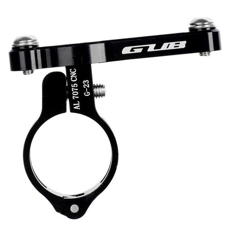 GUB G-23 Aluminum Alloy Bicycle Water Bottle Holder - Black (FSLV)