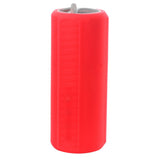 Outdoor Waterproof Bass Bluetooth Speaker w/ TF Card Slot - Red (FSLV)