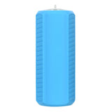 Outdoor Waterproof Bass Bluetooth Speaker w/ TF Card Slot - Blue (FSLV)