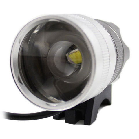 Kinfire AS10 XML T6 LED Cool White Bicycle Light w/ Battery (FSLV)