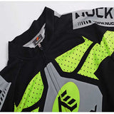 NUCKILY Outdoor Cycling Short Jersey + Short Pants Set - Green (M) (FSLV)