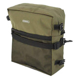 ROSWHEEL 3-in-1 Bicycle Rear Rack Bag Pannier Bag - Army Green + Black  (FSLV)