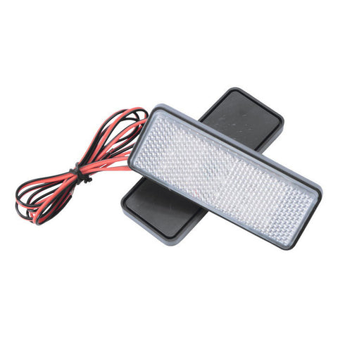 Motorcycle License Plate LED Flashing Light Yellow Light (2PCS) (FSLV)
