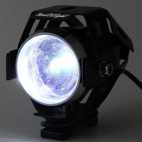 YouOKLight 15W 3-Mode Waterproof LED Cool White Motorcycle Headlamp (FSLV)