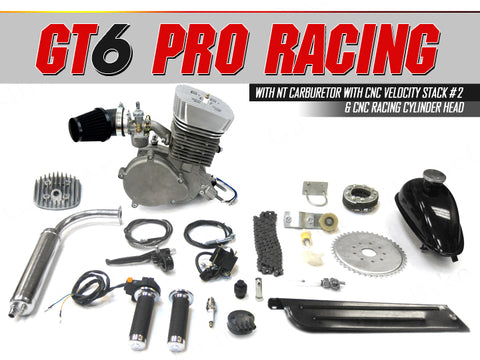 GT6 Pro Racing 66cc/80cc Bicycle Engine Kit