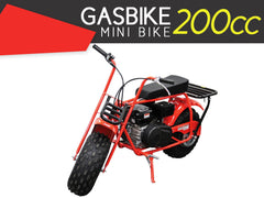 Gasbike 200cc Mini Bike