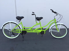 "Motorized Bicycle Greenline Tanden 26"" STEEL 7-Speed Shimano ALTUS  Beach Cruiser (Bike Only)"
