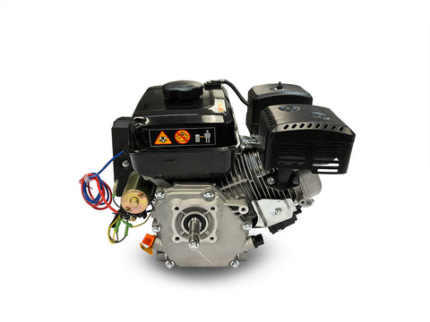 GasBike 196cc Electric Start 6.5HP Gasoline Engine - OHV 4-Stroke