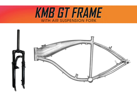 KMB GT Aluminum Bike Frame with Air Suspension Fork