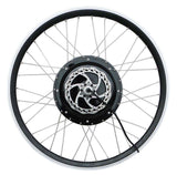 "Tesla 26"" Electric Conversion Rear Wheel - 48 V 1500 W (With Disc Brake and LCD) - Gasbike.net"