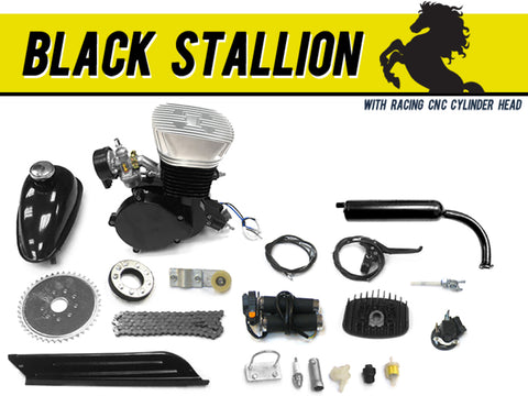 Black Stallion 66cc/80cc Bicycle Engine Kit