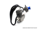 Boost Expansion Chamber Muffler - Black - Gasbike.net