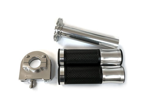 CNC Throttle Handle Set - Aluminum - Gasbike.net