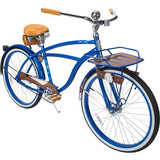 "26"" Huffy Cape Cod Men's Cruiser Bike, Metallic Blue - Gasbike.net"