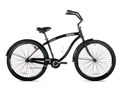 "29"" Genesis Onex Cruiser Men's Bike, Black - Gasbike.net"
