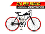 GT4 Pro Racing 66cc/80cc Motorized Bicycle
