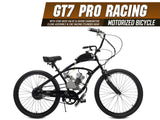 GT7 Pro Racing 66cc/80cc Motorized Bicycle