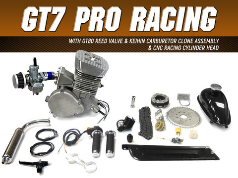 GT7 Pro Racing 66cc/80cc Bicycle Engine Kit