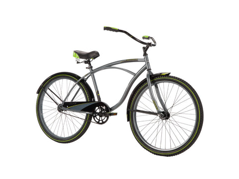 "26"" Huffy Men's Cranbrook Cruiser Bike, Charcoal - Gasbike.net"
