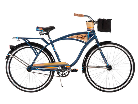 "26"" Huffy Panama Jack Men's Cruiser Bike, Midnight Blue - Gasbike.net"
