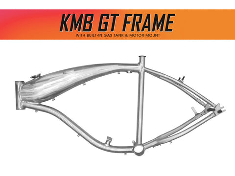 KMB GT Aluminum Bike Frame for 48cc / 66cc 2-Stroke & 4-Stroke Engines