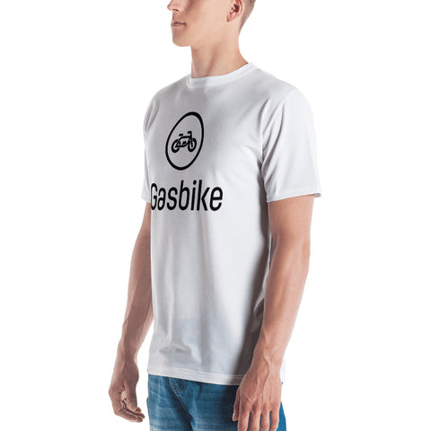 Premium Gasbike Men's T-shirt - White