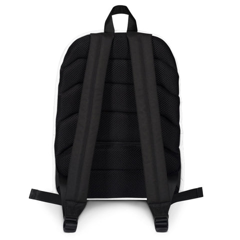 Gasbike Backpack - White #1 - Gasbike.net
