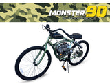 Monster 90 - 79cc Motorized Bicycle