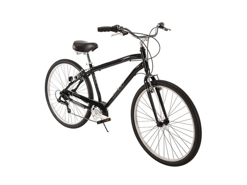 "27.5"" Huffy Mens' Parkside 7-Speed Bike, Black"