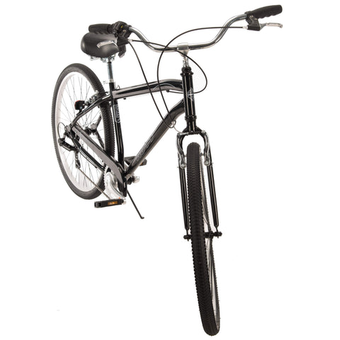 "27.5"" Huffy Mens' Parkside 7-Speed Bike, Black - Gasbike.net"